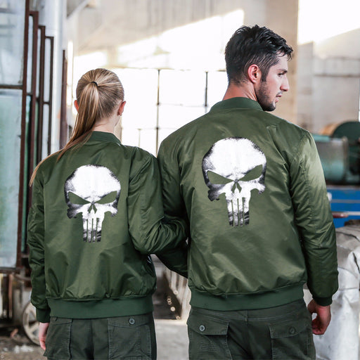 The pilot's uniform air force one skull men's jacket