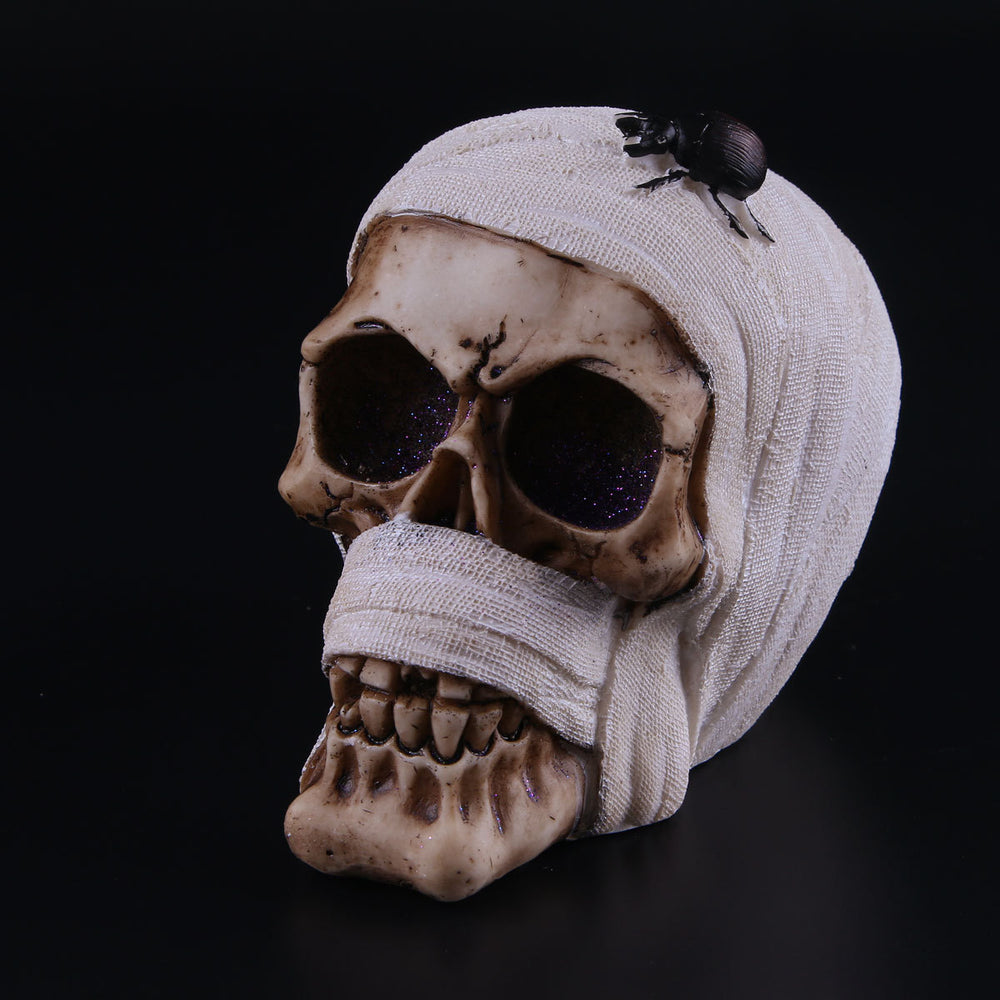 Resin skull Halloween props ornament