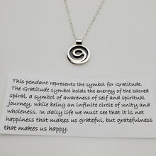 Load image into Gallery viewer, GRATITUDE PENDANT