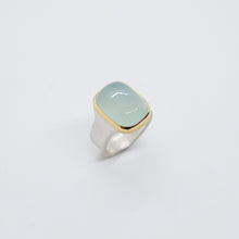 Load image into Gallery viewer, CHALCEDONY STERLING SILVER 18K RING