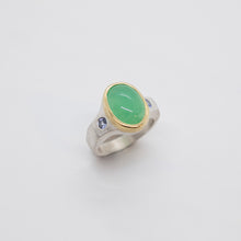Load image into Gallery viewer, CHRYSOPRASE RING