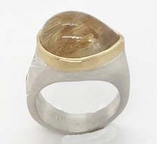 Load image into Gallery viewer, RUTILATED QUARTZ RING