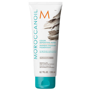 MOROCCANOIL Color Depositing Mask Platinum 200 ml