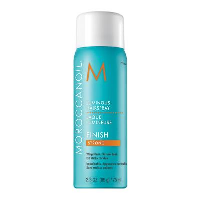 MOROCCANOIL Luminous Hairspray - Valovoimainen hiuskiinne, strong 75 ml