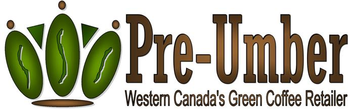 Pre Umber Western Canada S Green Coffee Bean Home Roasting Retailer