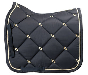 "TAPIS DE SELLE DE DRESSAGE BACK ON TRACK® ""NIGHT COLLECTION"""