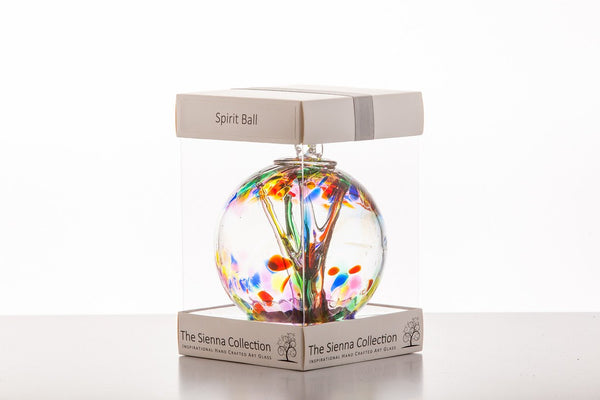 10cm Spirit Ball - Multicoloured-Sienna Glass