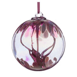 10cm Spirit Ball - Pastel Pink - Mother's Day Gift-Sienna Glass
