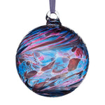 8cm Friendship Ball - Blue & Pink-Sienna Glass