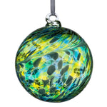 8cm Friendship Ball - Green & Blue-Sienna Glass