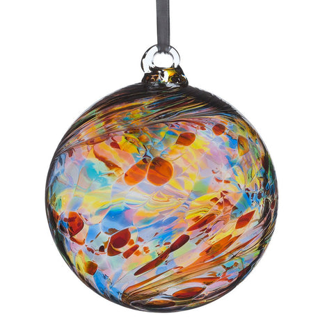 8cm Friendship Ball - Multicoloured-Sienna Glass