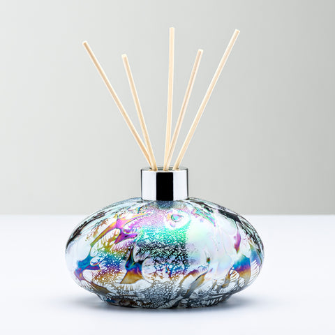 Reed Diffuser - Oval - Pastel Silver