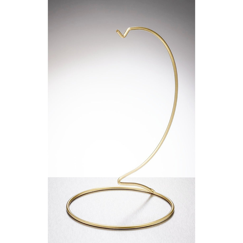 Display Stand - Large - Gold-Sienna Glass