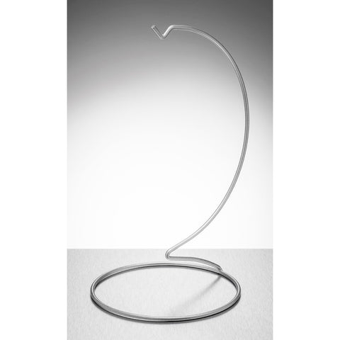 Display Stand - Large - Silver-Sienna Glass