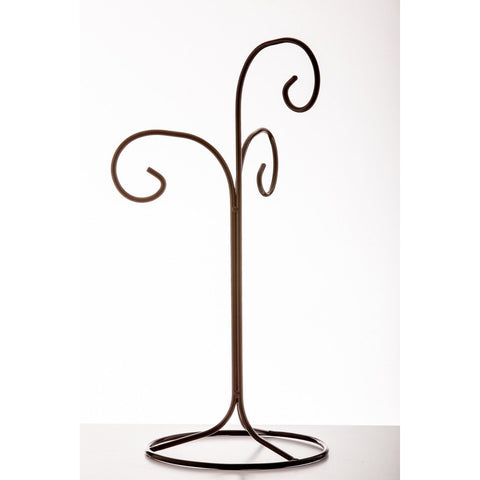 Display Stand - Triple-Sienna Glass