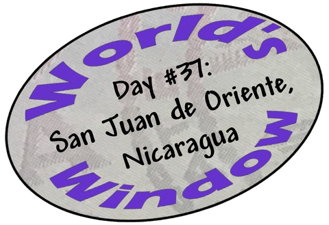 World's Window KC Passport Stamp - Day 37 - Nicaragua