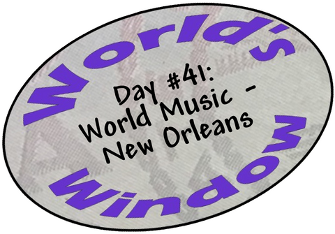 World's Window KC Passport Stamp - Day 41 - World Music