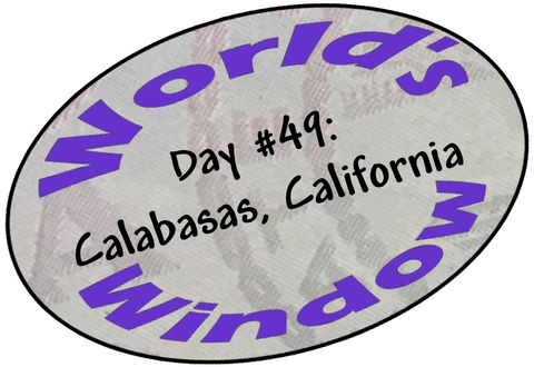 World's Window KC Passport Stamp - Day 49 - Calabasas, California