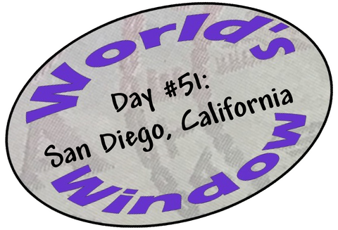 World's Window KC Passport Stamp - Day 51 - San Diego
