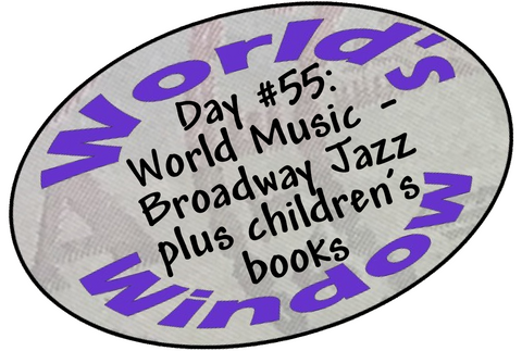 World's Window KC Passport Stamp - Day 55 - Broadway Jazz