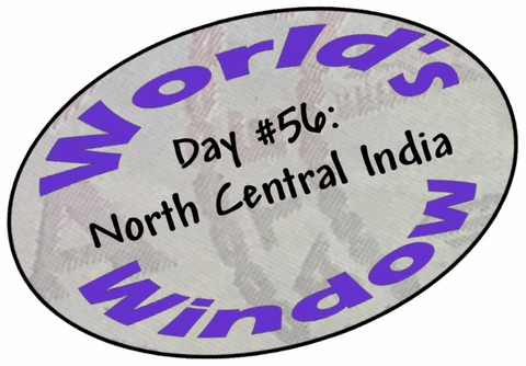 World's Window KC Passport Stamp - Day 56 - North Central India