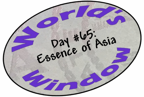 World's Window KC Passport Stamp - Day 65 - Essence of Asia