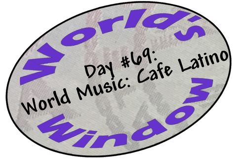 World's Window KC Passport Stamp - Day 69 - Cafe Latino