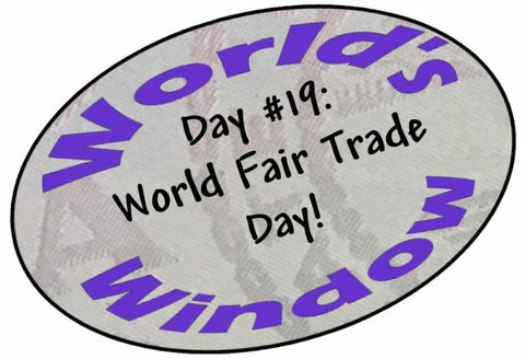 World's Window KC passport stamp - Day 19 World Fair Trade Day