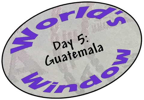 World's Window KC passport stamp. Day 5, Guatemala.
