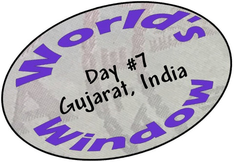 World's Window KC Passport Stamp - Day 7 - Gujarat, India