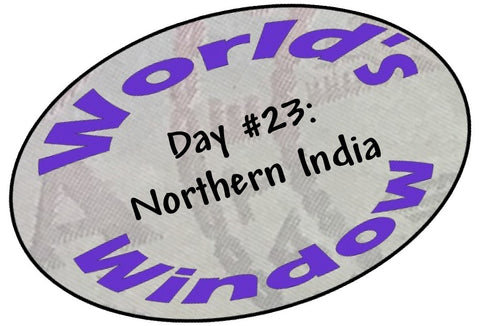 World's Window KC Passport Stamp - Day 23 - Northern India
