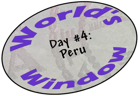 World's Window KC passport stamp. Day 4, Peru.