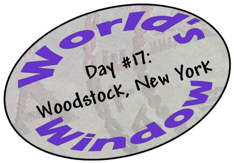 World's Window KC passport stamp - Day 17 Woodstock, NY