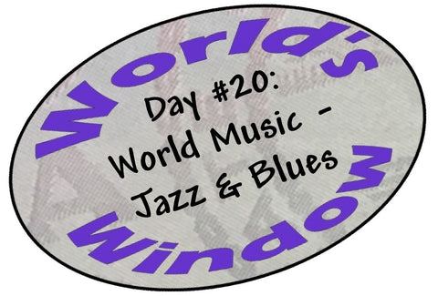 World's Window KC Passport Stamp - Day 20 World Music