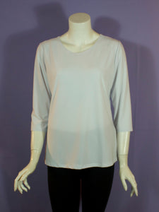Basic Poly 3/4 Sleeve Top - 5 colors