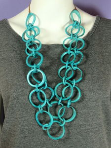 Tagua Ring of Life Necklace - 3 colors