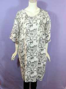Transparente Long Linen Tunic/Dress