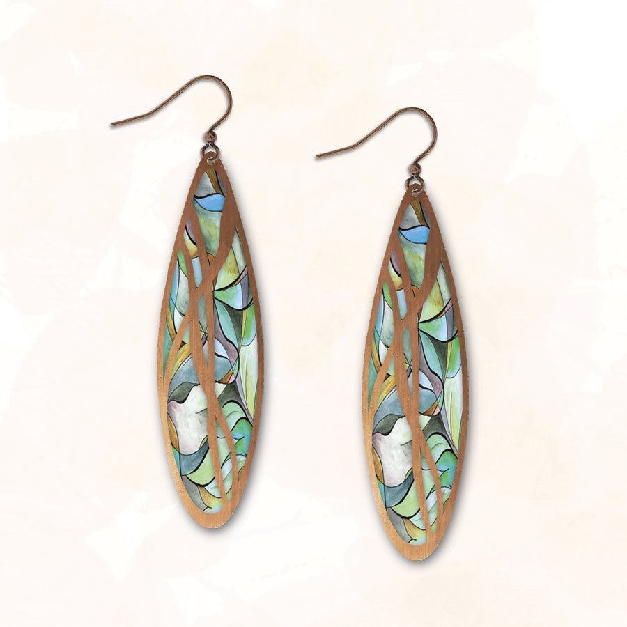 Illustrated Light Earrings - Yes, I think so