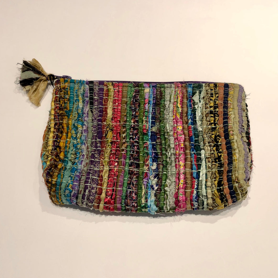 Chindi Zipper Clutch Bag - 8 colors available