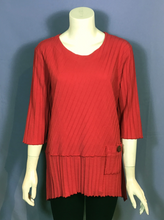 Load image into Gallery viewer, Ribbed Panel Tunic