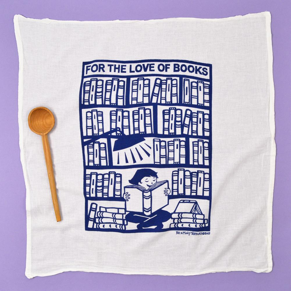 Dish Towel - For the Love of Books