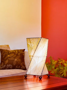 Twist Table Lamp - Natural
