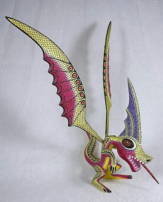 Mexican Painted Animal - Dragon