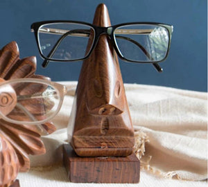 Wooden Eye Glass Holder