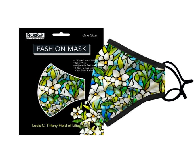 Modgy Face Mask - Field of Lilies