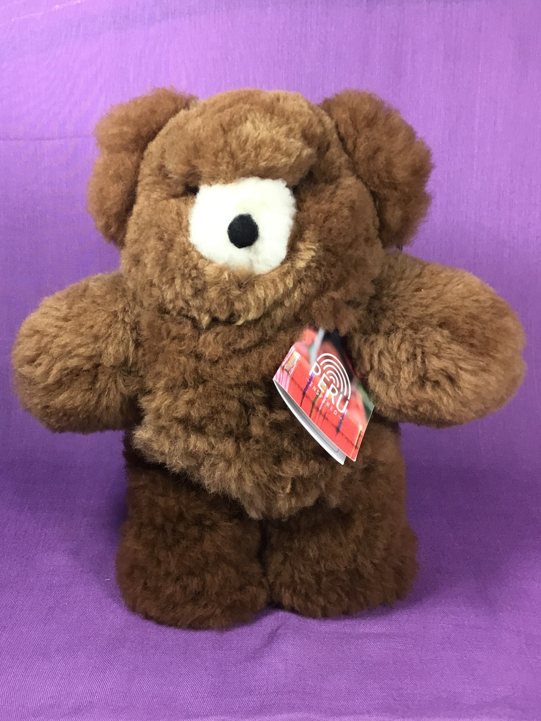 Alpaca Bear - Medium - Brown