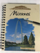 "Load image into Gallery viewer, Attic Journal - ""Portrait of Missouri"""
