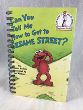 "Load image into Gallery viewer, Attic Journal - ""Can You tell me how to get to Sesame Street"""