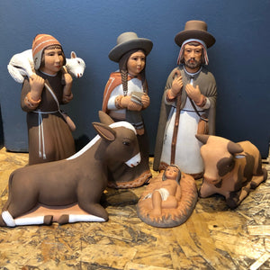 Nativity - Ceramic - Peru