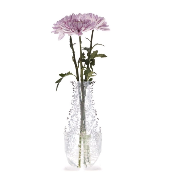 Expandable Flower Vase - Chi Chi - Silver